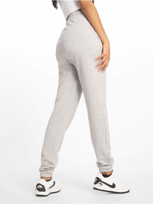 Missguided joggingbroek Tall Grey Marl Basic grijs