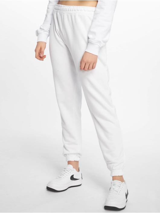 Missguided joggingbroek White Basic wit