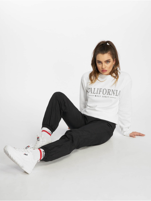 Missguided Joggingbyxor 80s Nylon svart
