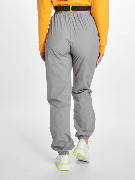 Missguided Jogginghose 80s Nylon grau