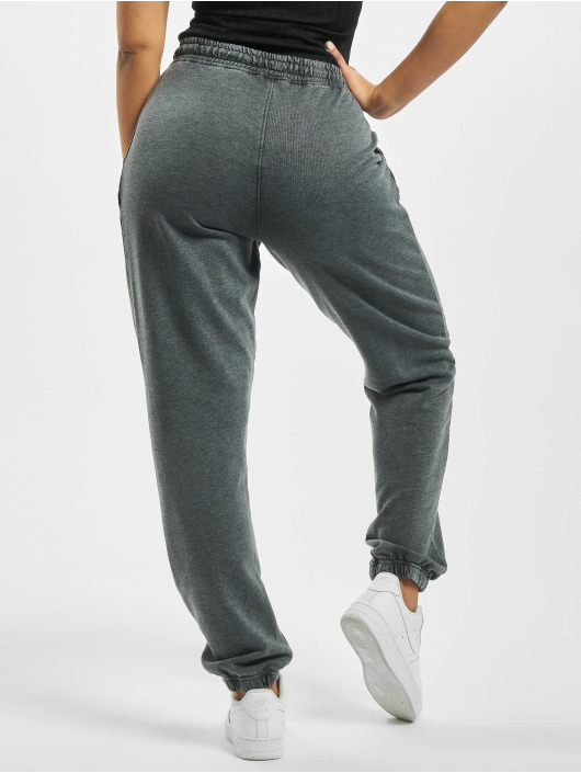 Missguided Jogginghose Tall White Wash 90s grau