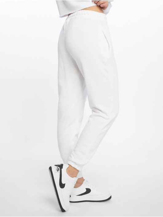 Missguided Jogginghose White Basic weiß