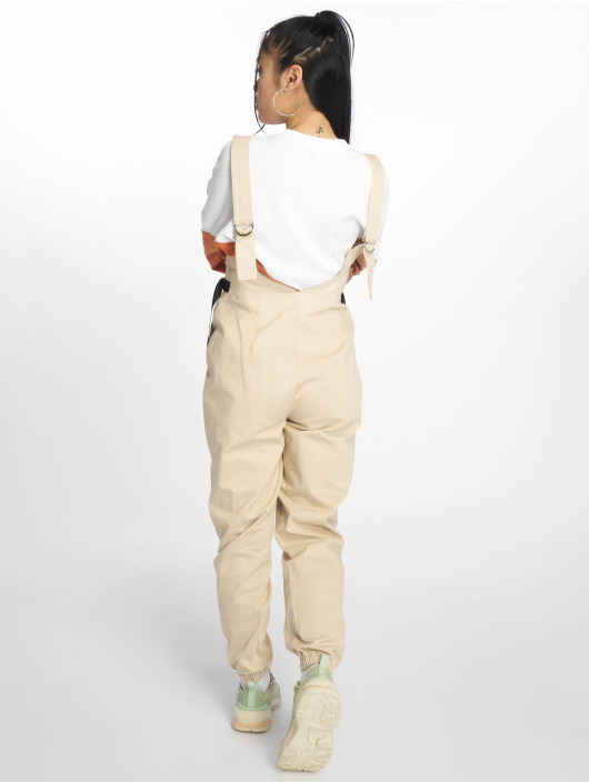 Missguided Jumpsuit Backless Utility beige