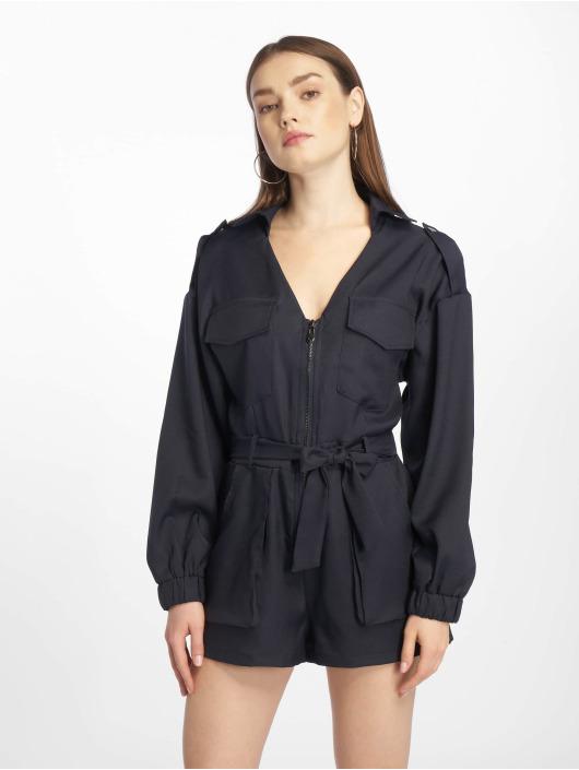Missguided Jumpsuit Petite Utility Belted blau
