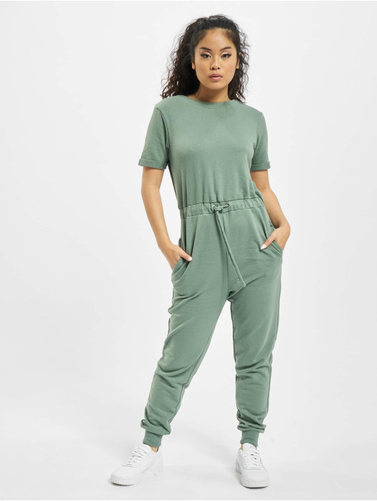 Missguided jumpsuit Drawstring Jogger groen