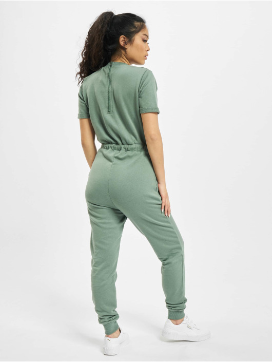 Missguided Jumpsuit Drawstring Jogger grün