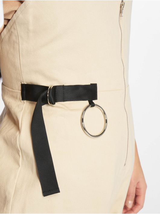 Missguided Jumpsuits Backless Utility bezowy