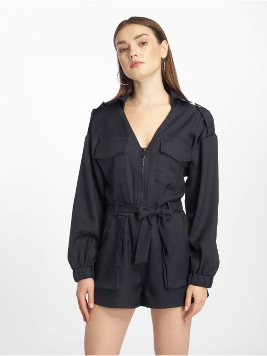Missguided Jumpsuits Petite Utility Belted blå