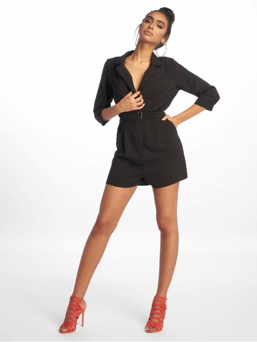 Missguided Jumpsuits Wrap Blazer black