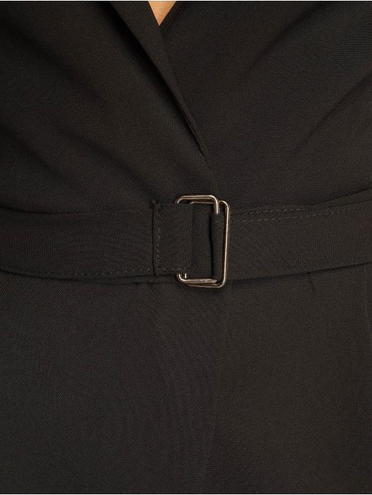 Missguided Jumpsuits Wrap Blazer czarny