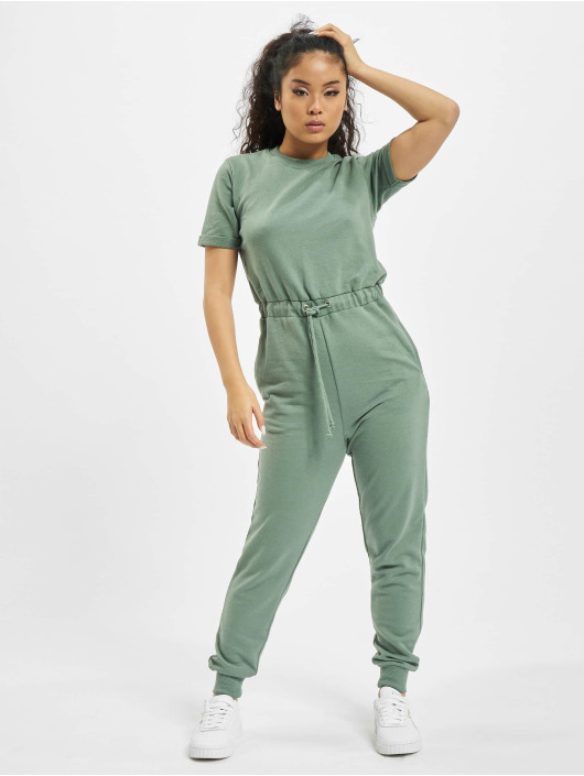 Missguided Jumpsuits Drawstring Jogger green