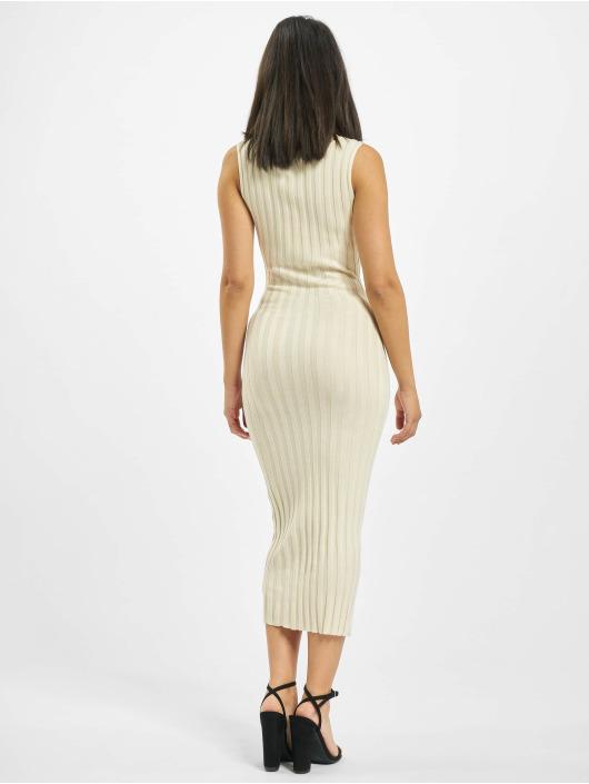 Missguided jurk Petite Knitted Rib beige