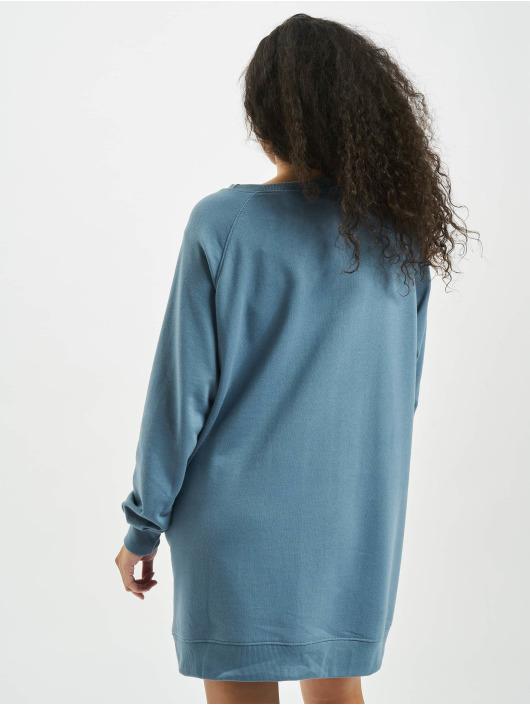 Missguided jurk Oversized Pocket blauw