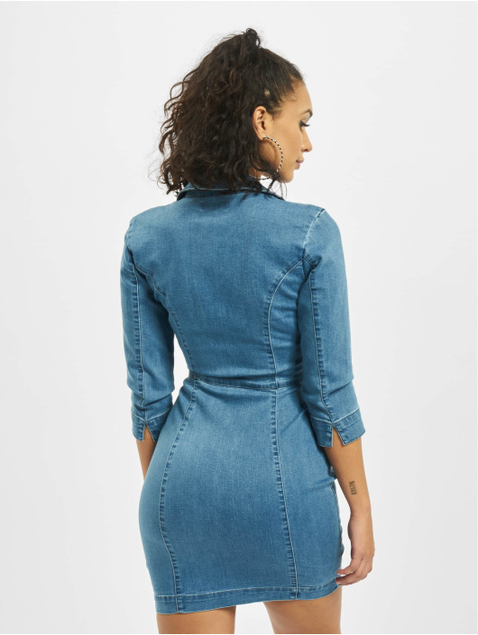 Missguided jurk Tailored blauw