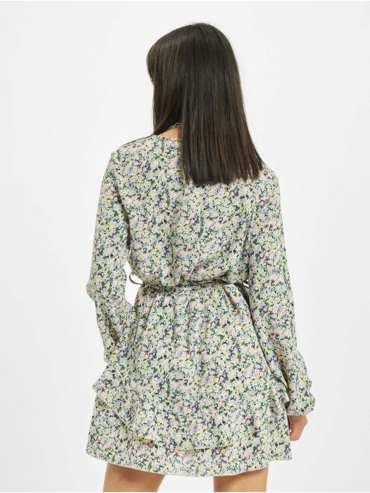 Missguided jurk V Neck Smock Ditsy bont