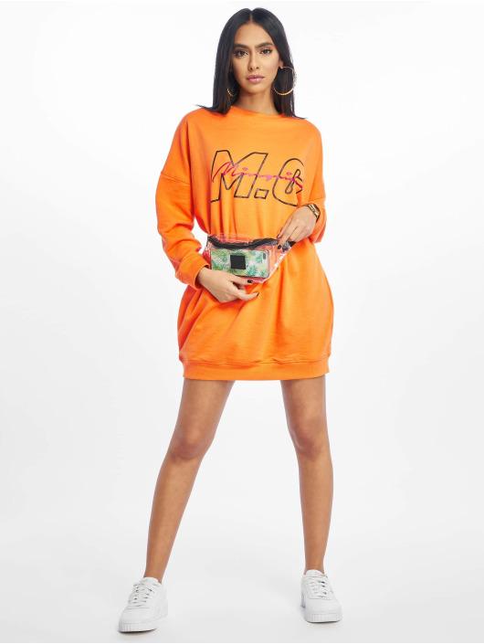 Missguided jurk Mg Signiture oranje