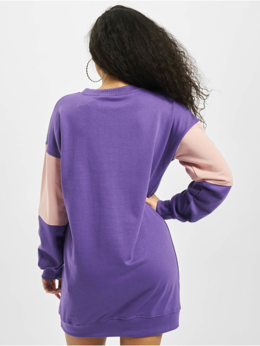 Missguided jurk Oversized Minimal paars
