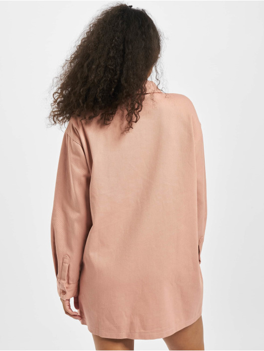 Missguided jurk Utility Pocket Denim pink