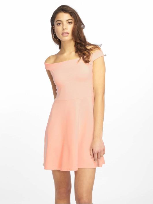 Missguided jurk Bardot Skater rose