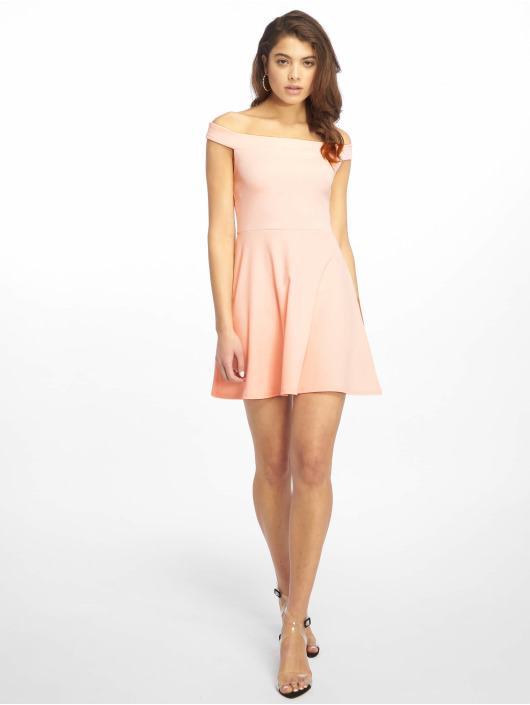 Missguided jurk Bardot Skater rose