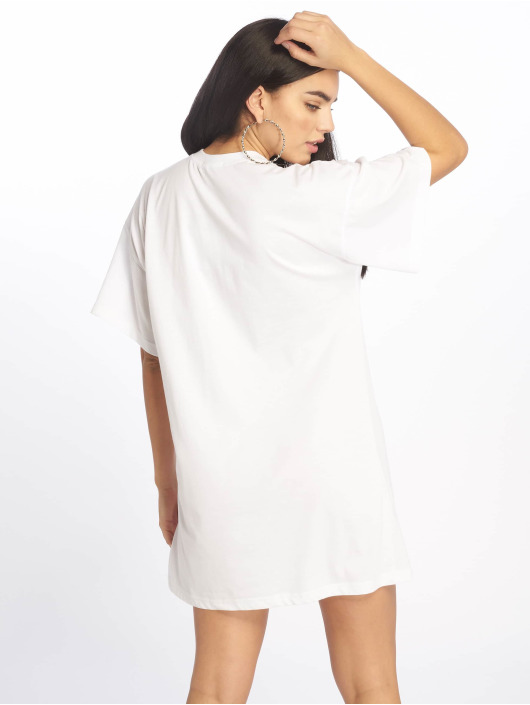 Missguided jurk Oversized SS wit