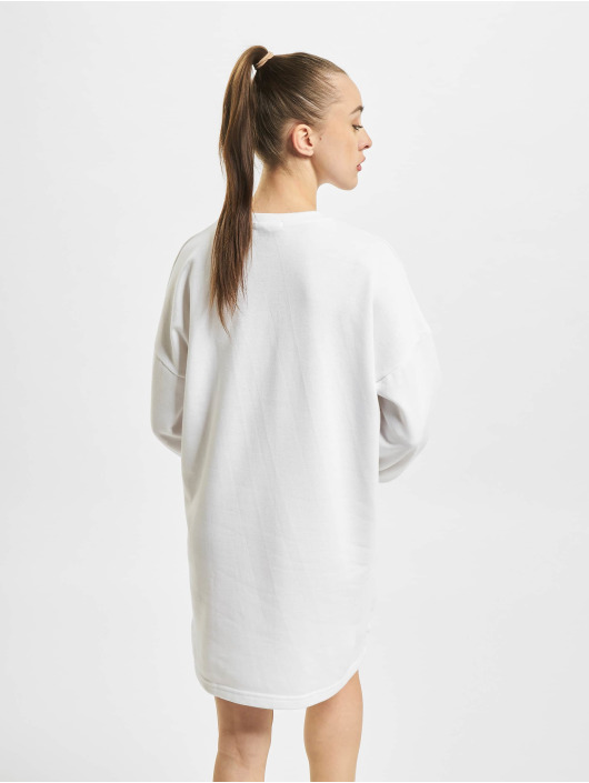 Missguided jurk Oversized wit
