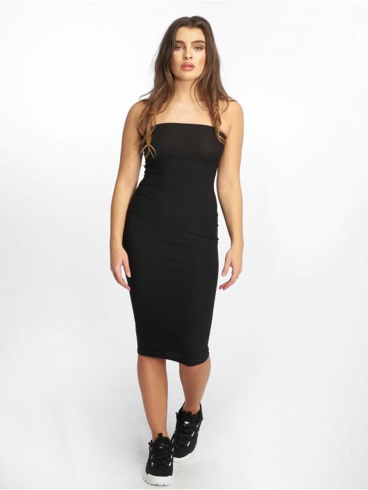 Missguided jurk Bandeau zwart