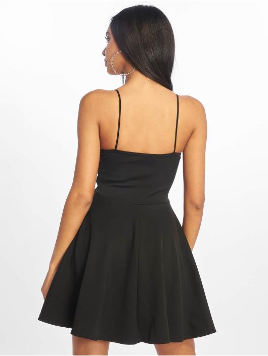 Missguided jurk Strappy Skater zwart