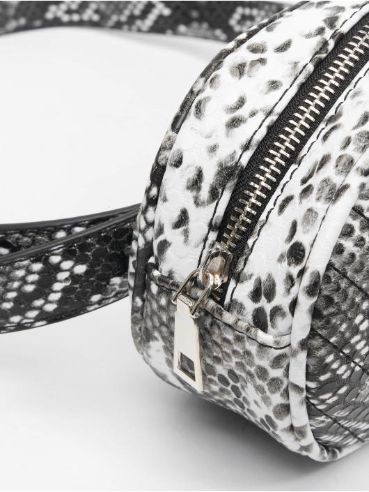 Missguided Kabelky Black An White Snake èierna