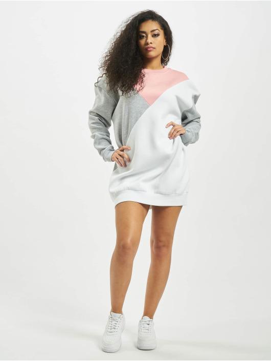 Missguided Klær Colour Block Sweater Triangle grå