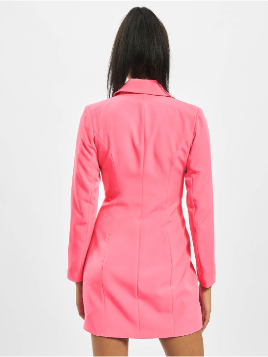 Missguided Klær Neon Pink Blazer lyserosa