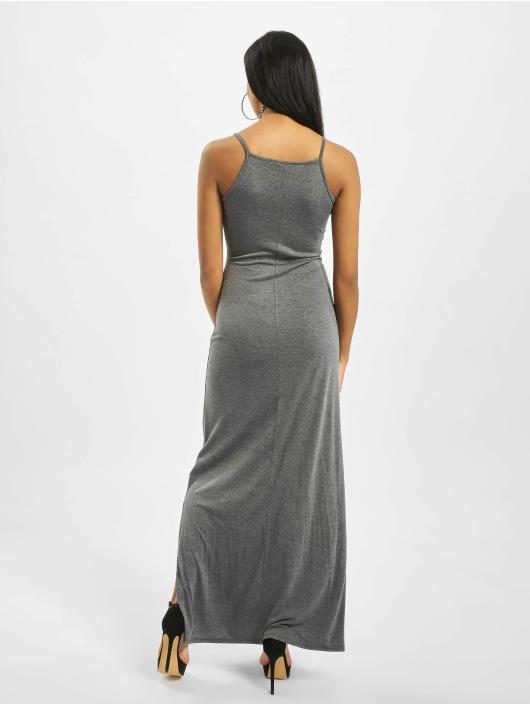 Missguided Klänning Tall Side Split High Neck grå