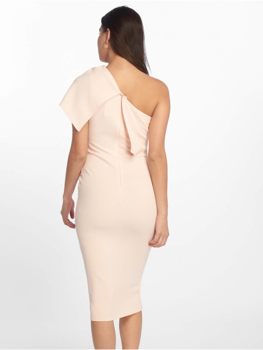 Missguided Klänning One Shoulder Midi ros