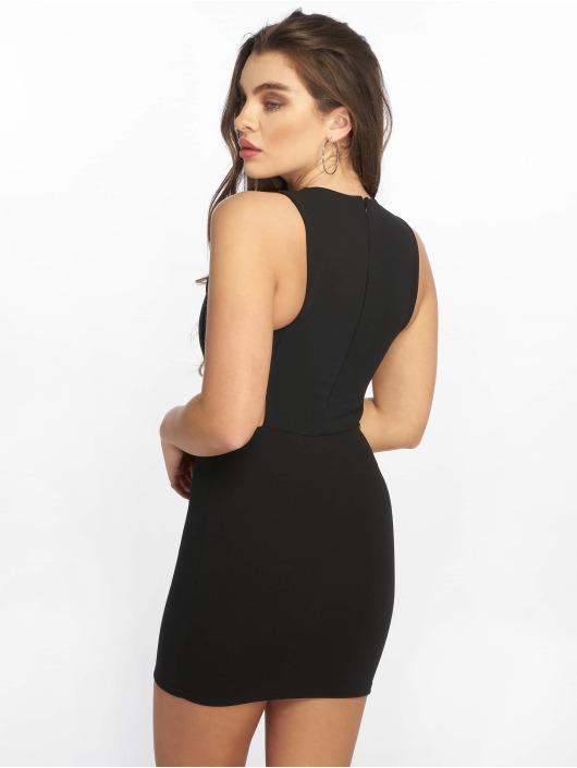 Missguided Klänning Sleeveless Cut Out svart