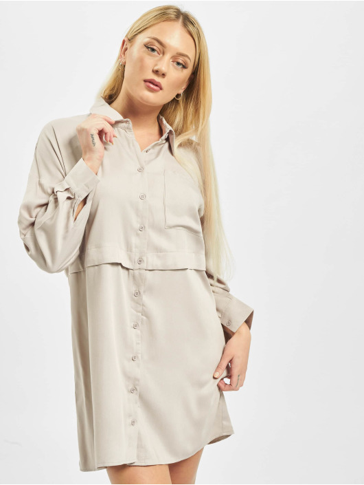 Missguided Kleid Utility beige