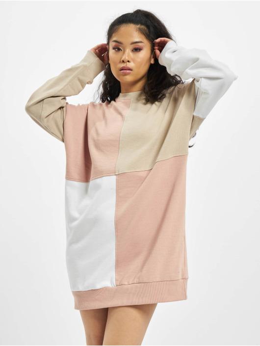 Missguided Kleid Oversized beige