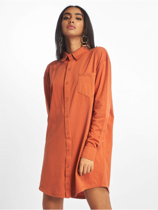 Missguided Kleid Jersey braun