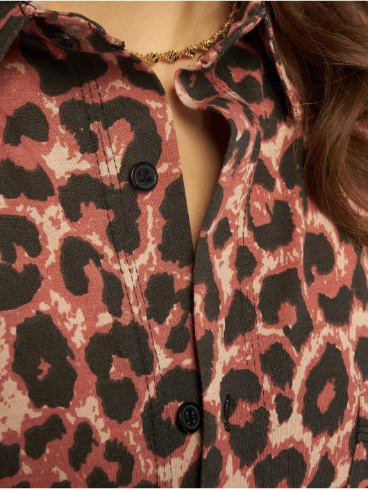 Missguided Kleid Oversized Jersey braun
