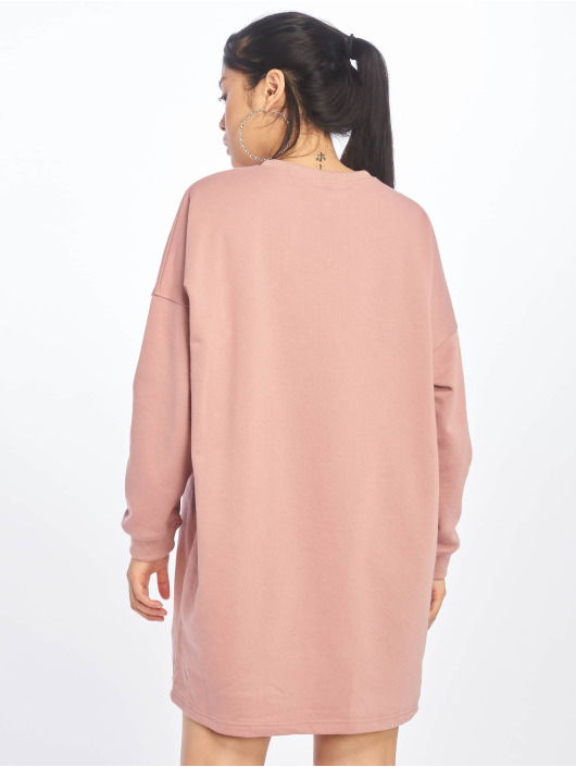 Missguided Kleid Sweater rosa