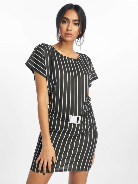 Missguided Kleid T Shirt schwarz