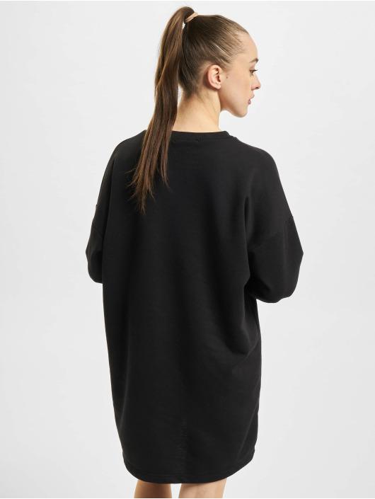Missguided Kleid Oversized Sweater schwarz
