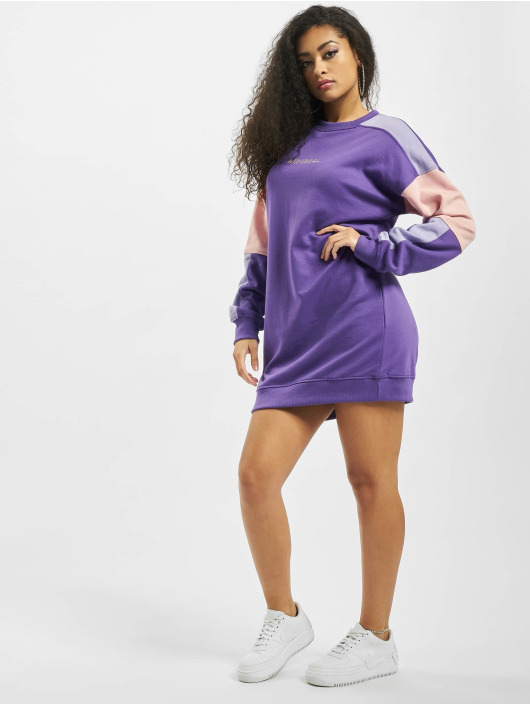 Missguided Kleid Oversized Minimal violet