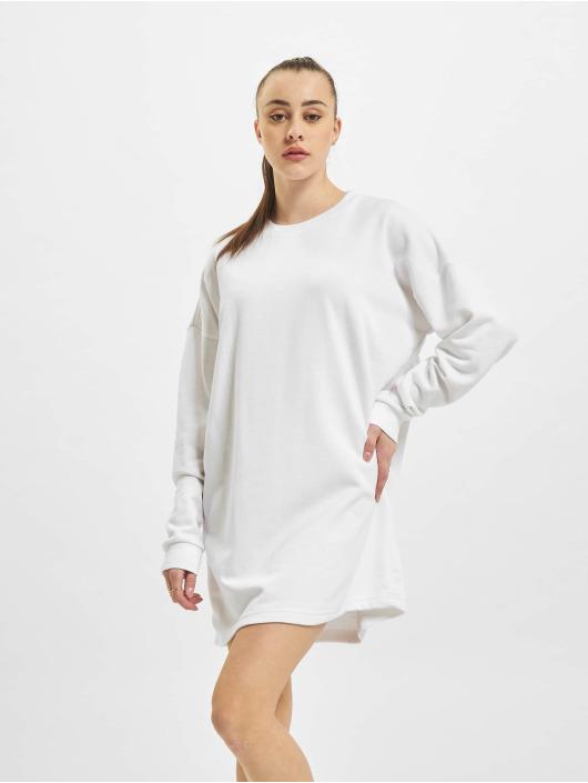 Missguided Kleid Oversized weiß