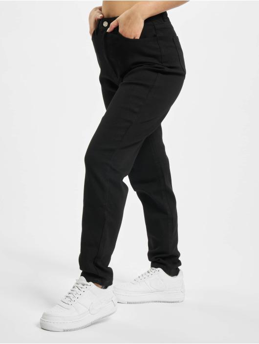Missguided Korkeavyötäröiset farkut Comfort Stretch Denim musta