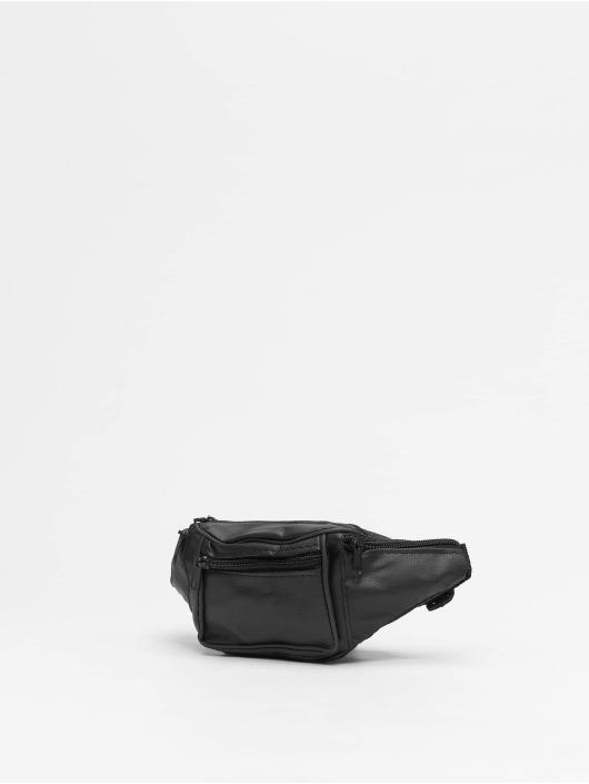 Missguided Laukut ja treenikassit Leather Bum musta