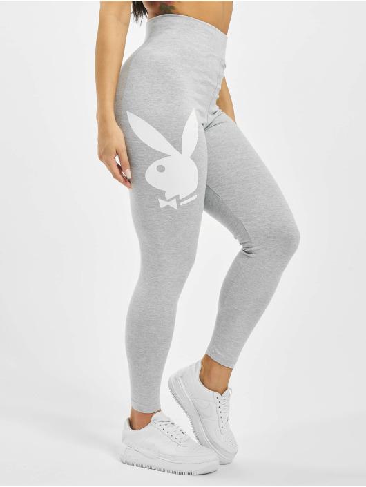 Missguided Legíny/Tregíny Playboy Bunny Lounge šedá
