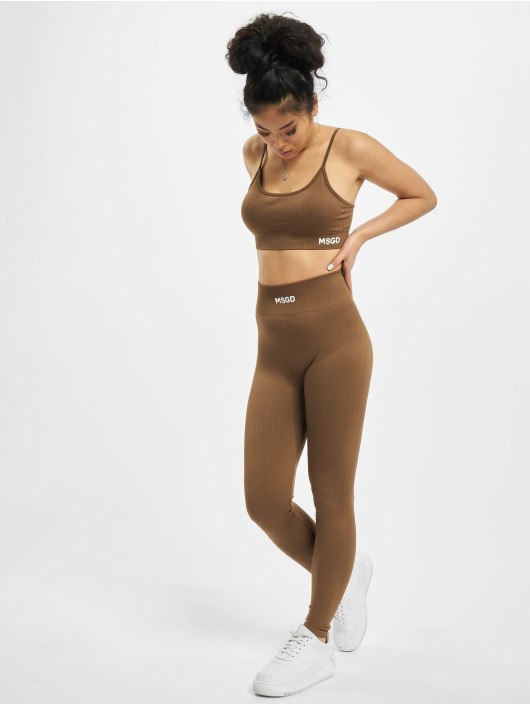 Missguided Legging Seamless brun