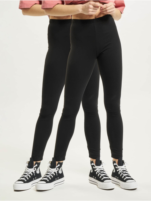 Missguided Legging 2 Pack schwarz