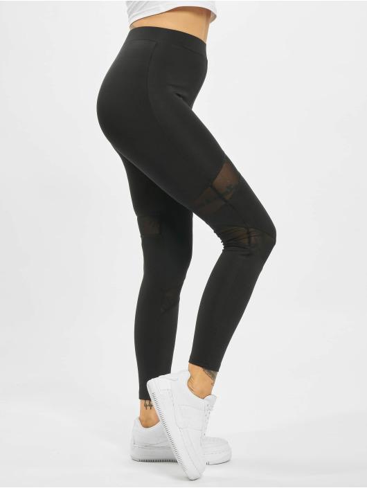 Missguided Legging/Tregging Cut Out Mesh Insert negro