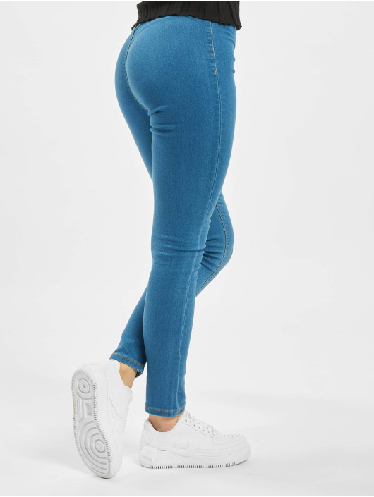 Missguided Leggings Outlaw blu